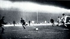 Rangers 1 Inter Milan 0 in March 1965 at Ibrox. A goal for Jim Forrest in the European Cup Quarter Final, 1st Leg.