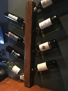 Wooden wine rack diy