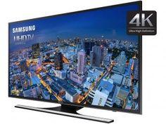 """Smart TV Gamer LED 4k Ultra HD 48"""" Samsung - UN48JU6500 4 HDMI 3 USB Wi-Fi"""