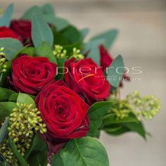Porta Nova Red Naomi Supra Roses by Pierros LCDF flower shop Greece.
