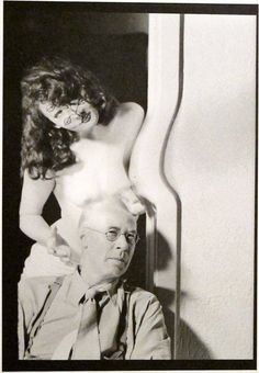 Man Ray, Henry Miller & Anais Nin, 1945 on ArtStack #man-ray #art
