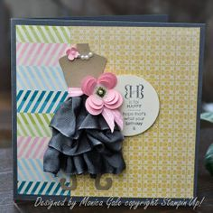 Stampin' Up! Birthday by Monica G at My Many Passions