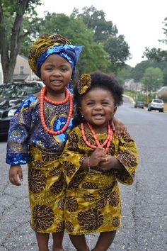 Two Precious Little African Princesses. http://howiviewafrica.tumblr.com/post/30869837575/african-princesses