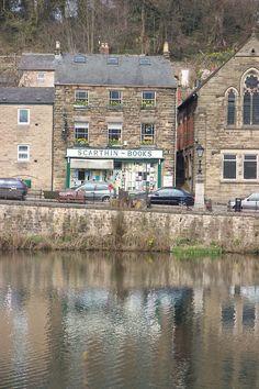 Scarthin Books, Derbyshire UK