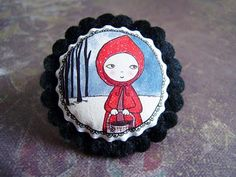 My latest Red Riding Hood from La Factoria de Nono. She is so cute!