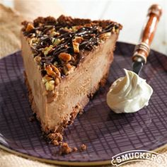 Mississippi Mud Ice Cream Pie from Smucker's®