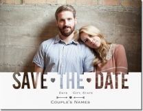 cut out save the date Invitations & Announcements