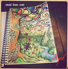 journal - dream - create