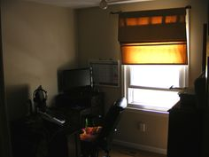 Another one of the five bedrooms in this home; currently used as an office.