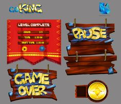 go king interface by David Hernandez, via Behance