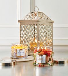 'Find Your Signature' fragrance with PartyLite! Try the enchanting notes of Sparkling Amethyst paired with luscious Maple Walnut for a divine Signature combination! Show it off with the Infinite Circles Lantern which reflects beautifully inside and out. www.partylite.com.au