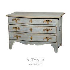18th century Swedish Rococo chest