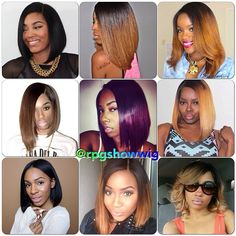 Really Perfect Girls rocks dope RPGSHOW bob hair!  Can't get enough of these amazing and talented  @allthingsfabulous101 @lakiastar @malibudollface @Victoria Brown Brown Lewis @lover4_fashion @no way Christine Hermans Lardon MrsDivalike @weaveaddict_ @Vanessa Samurio Samurio McCullough @princesskooch05  Okay, all the #bobsuckers just give me five!!!  Tell me which look is your favorite!  #rpgshow #rpgshowwig #instabob #instagood #fashionhair #bob #Padgram