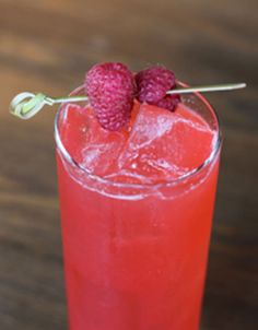 Gin & Raspberry Cocktail Recipe: Porch Swing Sipper | Tasting Table