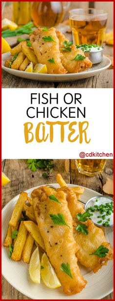 Get a light, crispy coating on your fried fish or chicken with this simple batte… – fish or chicken - Fish Recipes Fried Fish Batter Recipe, Crispy Fish Batter, Breaded Fish Recipe, Baked Fish, Simple Fish Batter Recipe, Deep Fried Fish Batter, Crispy Chicken Batter Recipe, Light Batter For Fish, Easy Fish Batter