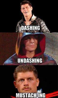 "Cody Rhodes, so much ""Shing"""