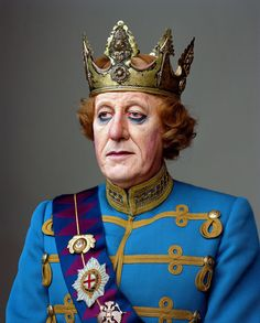 Geoffrey Rush; New York, NY, 2009: Martin Schoeller's Portraits