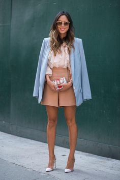 How to wear tailored shorts, per Aimee Song