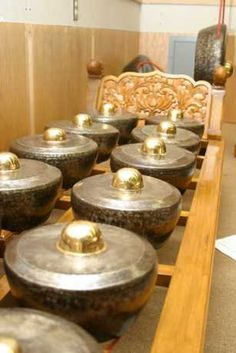 Gamelan - Indonesian musical instrument