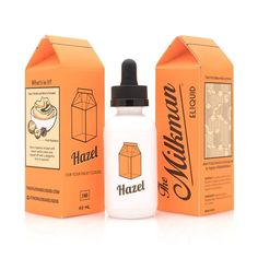 With Hazel, The Milkman has combined warm hazelnuts with sweet vanilla cream, topped off with a delightful note of gooey caramel, to create an indelible vaping experience! #Hazel #TheMilkman #sweetvapeflavor #ejuiceflavor #eliquid #ejuice #vape #vaping #Vapecentric