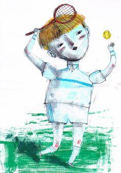 Massimiliano di Lauro: Quando ero piccolo sognavo di essere Boris Becker
