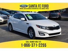 2015 White Kia Optima LX 37819P