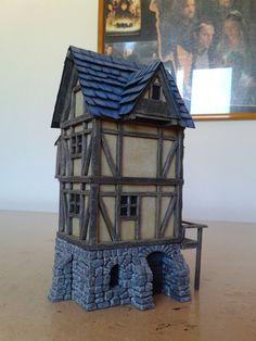 Medieval House - 28mm Building - Tabletop - Terrain - Diorama - Wargaming