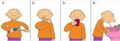 Stappenplan: Tanden poetsen