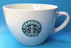 Starbucks Coffee Mug Cup Mermaid Logo Oversized 18 oz. 2007 #Starbucks