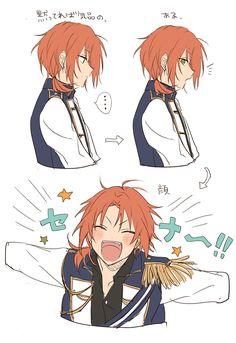Cute Anime Boy, Anime Art Girl, Anime Guys, Anime Male, Character Concept, Character Design, Ensemble Stars, Anime Sketch, Boy Art
