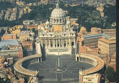 basilica of st peters, rome, italy
