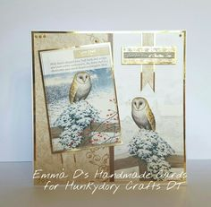 Made for Hunkydory Crafts DT - Winter Wildlife of Britain