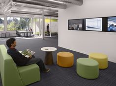 kpcb - 4 Open Office, Office Spaces, Interior Architecture, Interior Design, Office Interiors, Offices, Planets, Centre, Chair