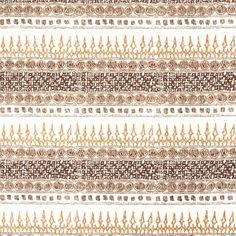 Algiers Clay John Robshaw block print fabric