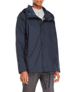Canada Goose Harbor Hooded Waterproof Rain Jacket - Polar Sea Medium | Pinterest