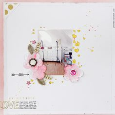 2 scrapbooking pages | OhDeerMe embellishment kit - Janna Werner | Papiersalat