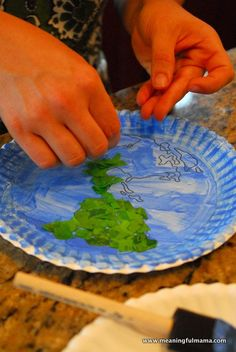 Noahs ark craft, Noah ark and Paper plates on Pinterest