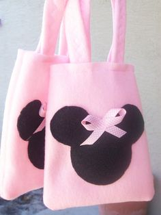 MINNIE MOUSE PARTY/felt party bags favor/all in by BellisimaSofia
