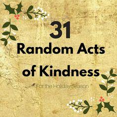 31 Random Acts of Ki