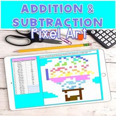 Teach your students how to apply basic fact strategies by solving 20 addition and subtraction problems in this engaging and fun activity. Your students will solve 20 problems and enter their responses within the space provided in the table. It's a digital color by number in Google Sheets great for distance learning, math centers, technology day, homework, holiday parties or fluency review! #SpaceGamesForKidsActivities #PlayGameOnline Addition And Subtraction Practice, Addition Games, Early Elementary Resources, Elementary Schools, Star Citizen, Math Games, Learning Activities, Space Games For Kids, Early Math