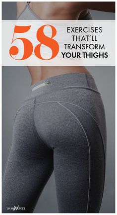 If you've been longing for lean legs and toned inner thighs, this workout is for you! A collection of 58 muscle-sculpting moves to work all areas of the thighs (and more!). Womanista.com