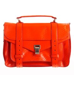 Proenza Schouler PS1 Medium Python handbag