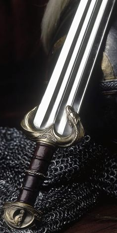 Eomer's Sword - but can we just appreciate how pretty it is?