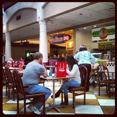 Food Court Stroud Mall by jrwidmer, via Flickr