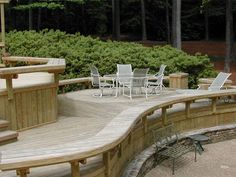 rounded cantilever bench seating