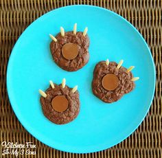 Kitchen Fun With My 3 Sons: Brownie Bear Claw Camping Cookies & Other Camping Food Ideas!