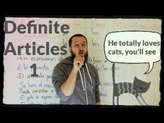 How to Use the Spanish Definite Article