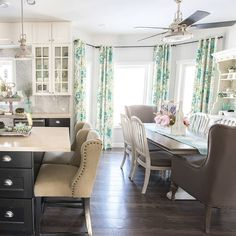 Spring home decor ideas the mommy 2017 ganpati decoration at video tour Painted Cupboards, Tv Cabinets, Country Master Bedroom, Modern French Country, Kids Room Paint, Home Decor Inspiration, Decor Ideas, Brown Furniture, Spring Home Decor