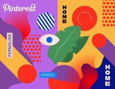 Pinterest Home Trends 2017 Illustrations on Behance