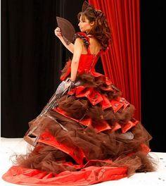 Prekrasna čokolada s crvenim...